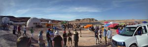 MAVRIC competes in the 2017 University Rover Challenge in Hanksville, UT
